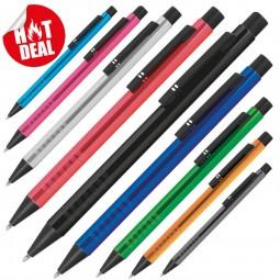 Kugelschreiber mit extravaganter Griffzone