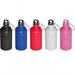Trinkflasche klein mit Karabinerhaken