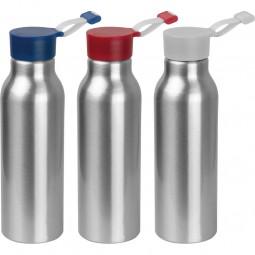 Trinkflasche mit Silikondeckel