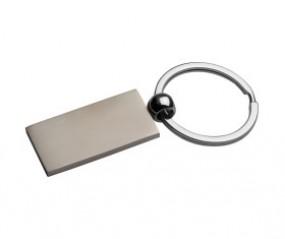 Schlüsselanhänger rechteckig schlicht