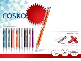 Kugelschreiber CO mit Gravur