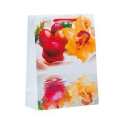 Lacktragetasche 18 x 24 +8 cm Eier & Blüte