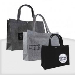 Filztaschen mit Druckknopf