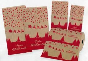 Verpackungskonzept Frohe Weihnachten