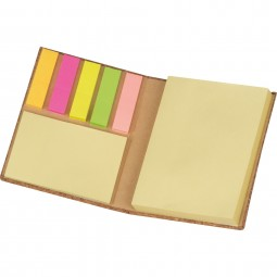 Notizbuch mit Korkumschlag