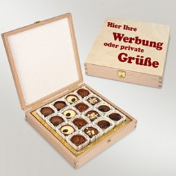 Pralinenbox aus Holz (Spirito)