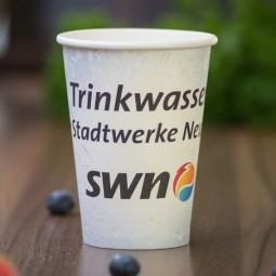 Coffee to go Becher - Einwandig - 180 ml