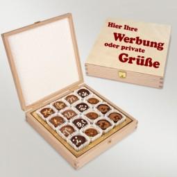 Pralinenbox aus Holz (Mondo)