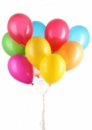 Luftballon mit Druck 2-farbig/1-seitig
